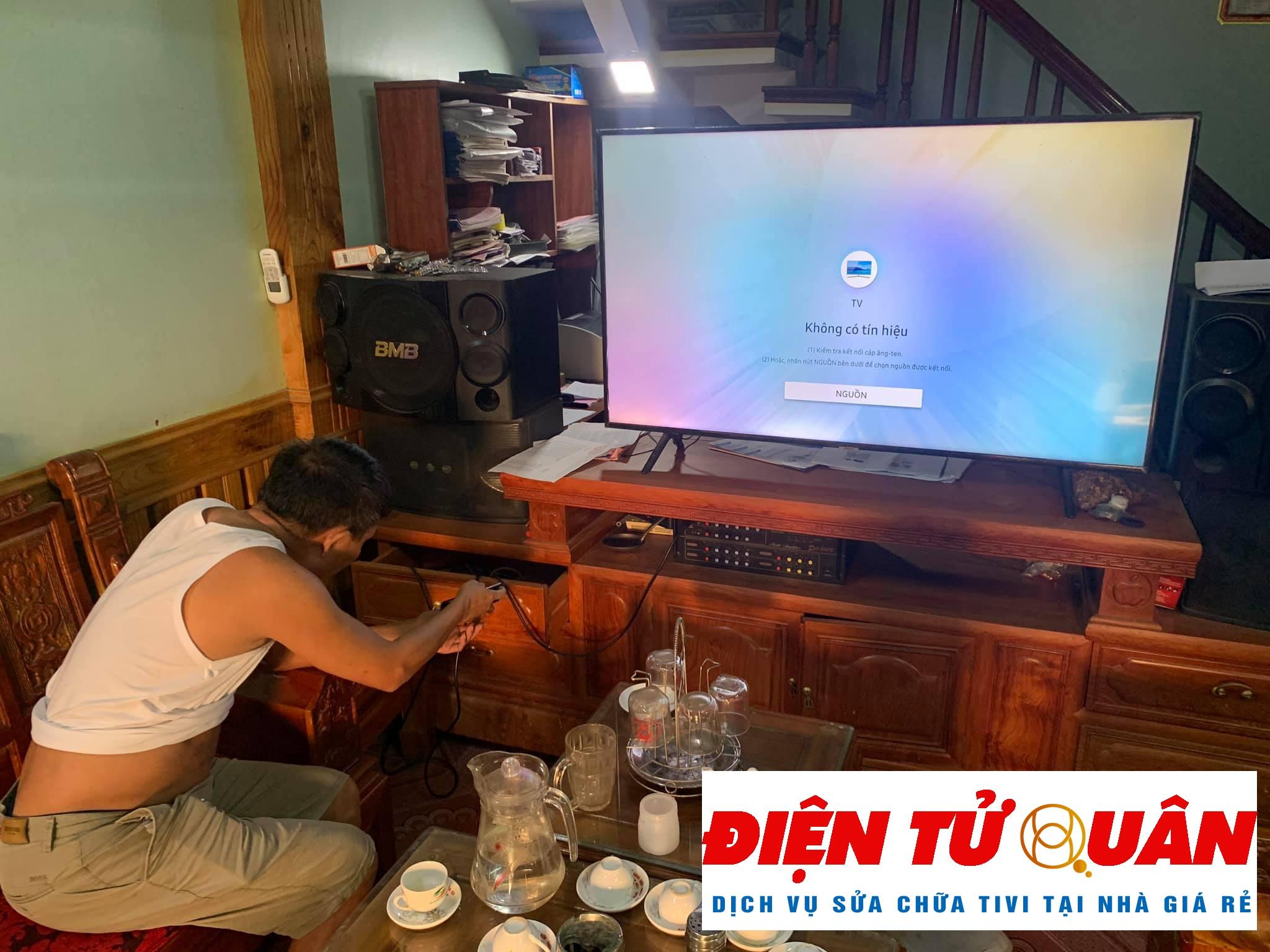Dịch Vụ Sửa Tivi Samsung Tại Nhà Quận Tân Bình Giá Rẻ