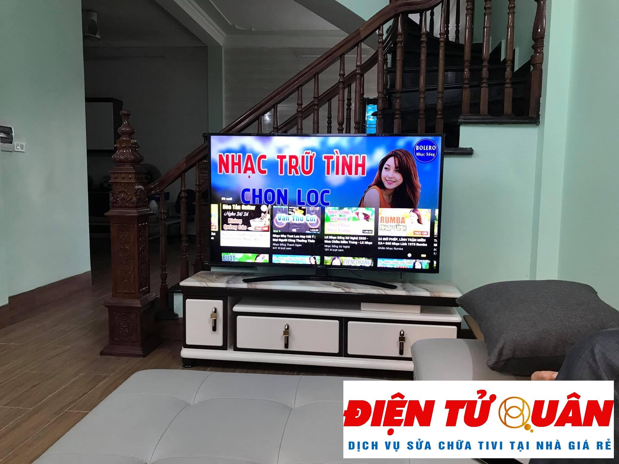 Dịch Vụ Sửa Tivi Sharp Tại Nhà Huyện Nhà Bè Giá Rẻ