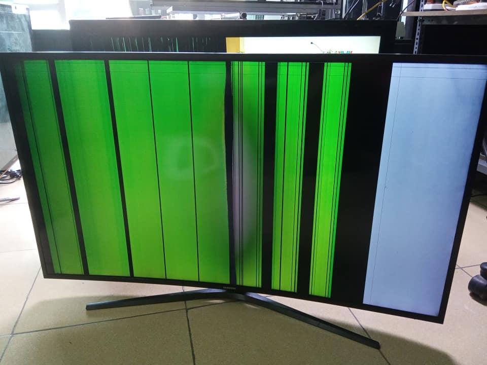 Màn hình tivi samsung bị sọc dọc