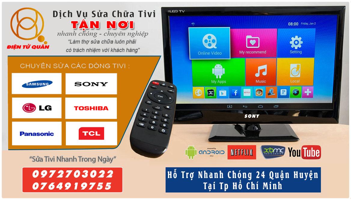 Dịch Vụ Sửa Tivi Dĩ An Giá Rẻ