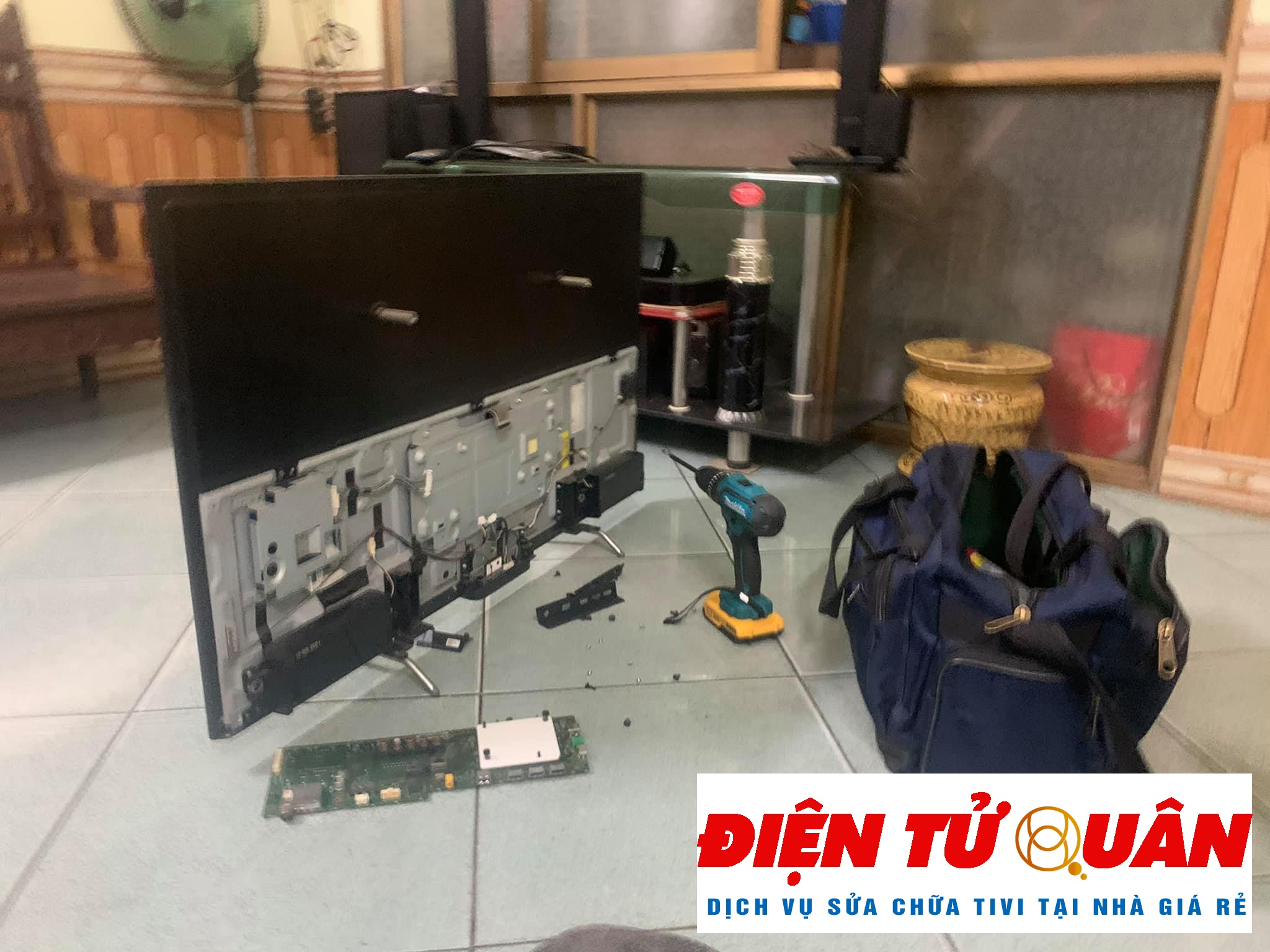 Dịch Vụ Sửa Tivi Toshiba Tại Nhà Quận 12 Giá Rẻ