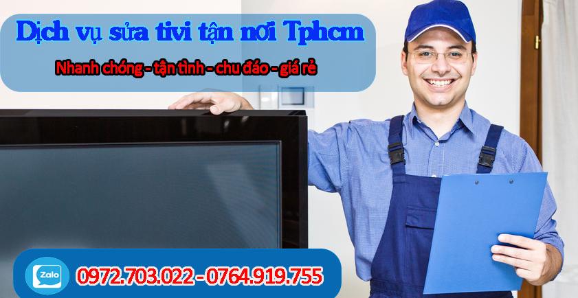 Dịch vụ Sửa tivi sony tại nhà Tphcm