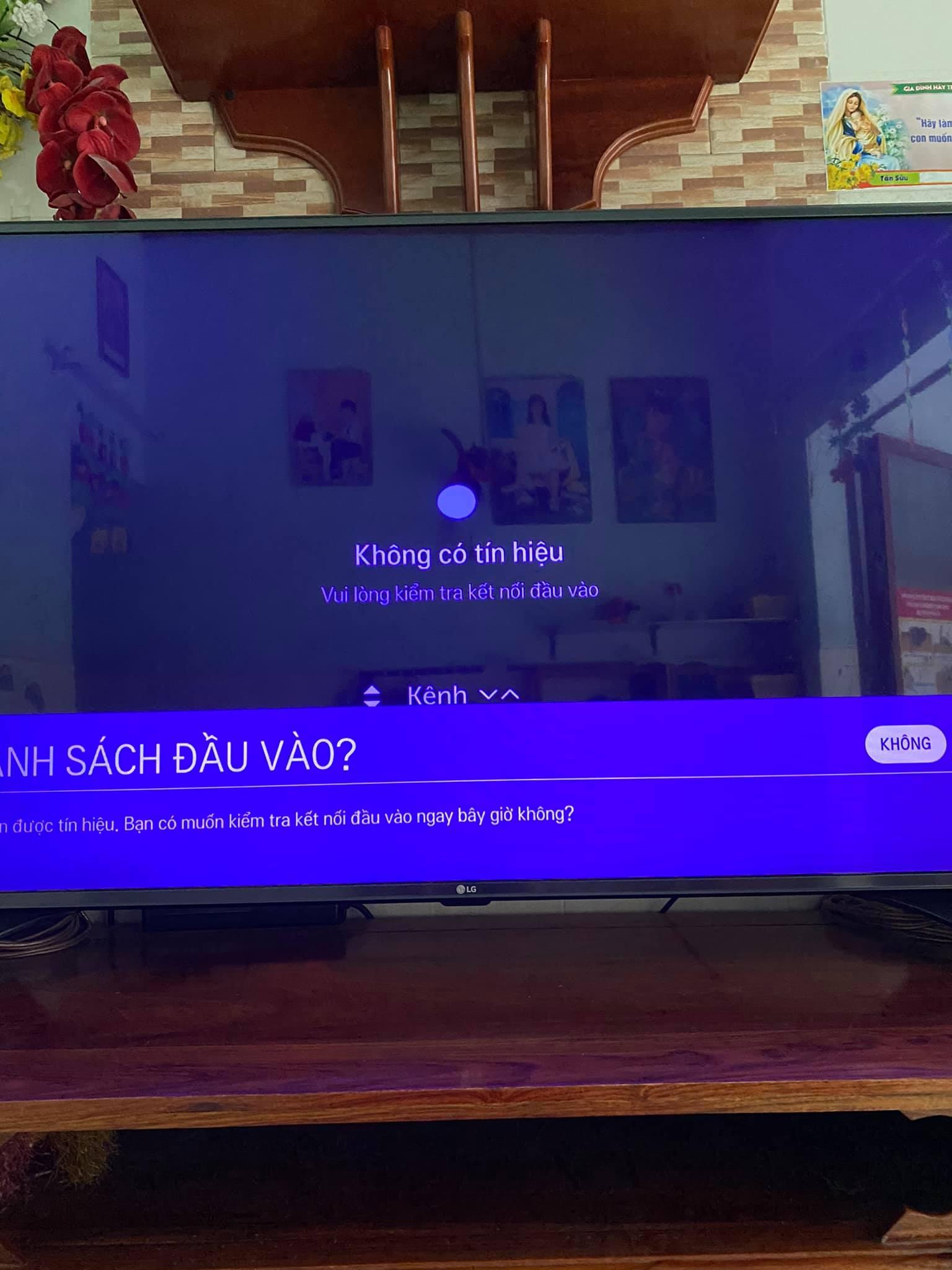 Tivi không nhận hdmi